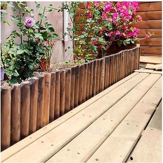 ZHANWEI Valla de jardín Bordura de jardín Decorativo Al Aire Libre Césped Paisaje Cama De Flores Paneles De Borde De Borde, Tamaños Múltiples (Size : 120x40cm): Amazon.es: Jardín