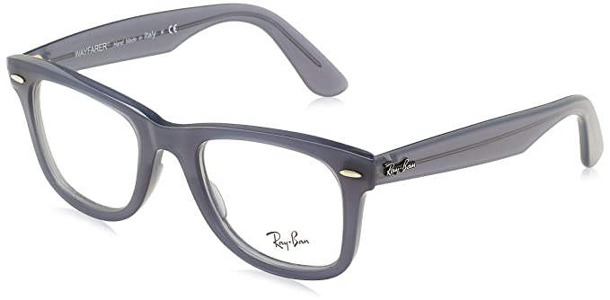 Amazon.com: Ray-Ban rx4340 V Wayfarer anteojos, Azul: Clothing