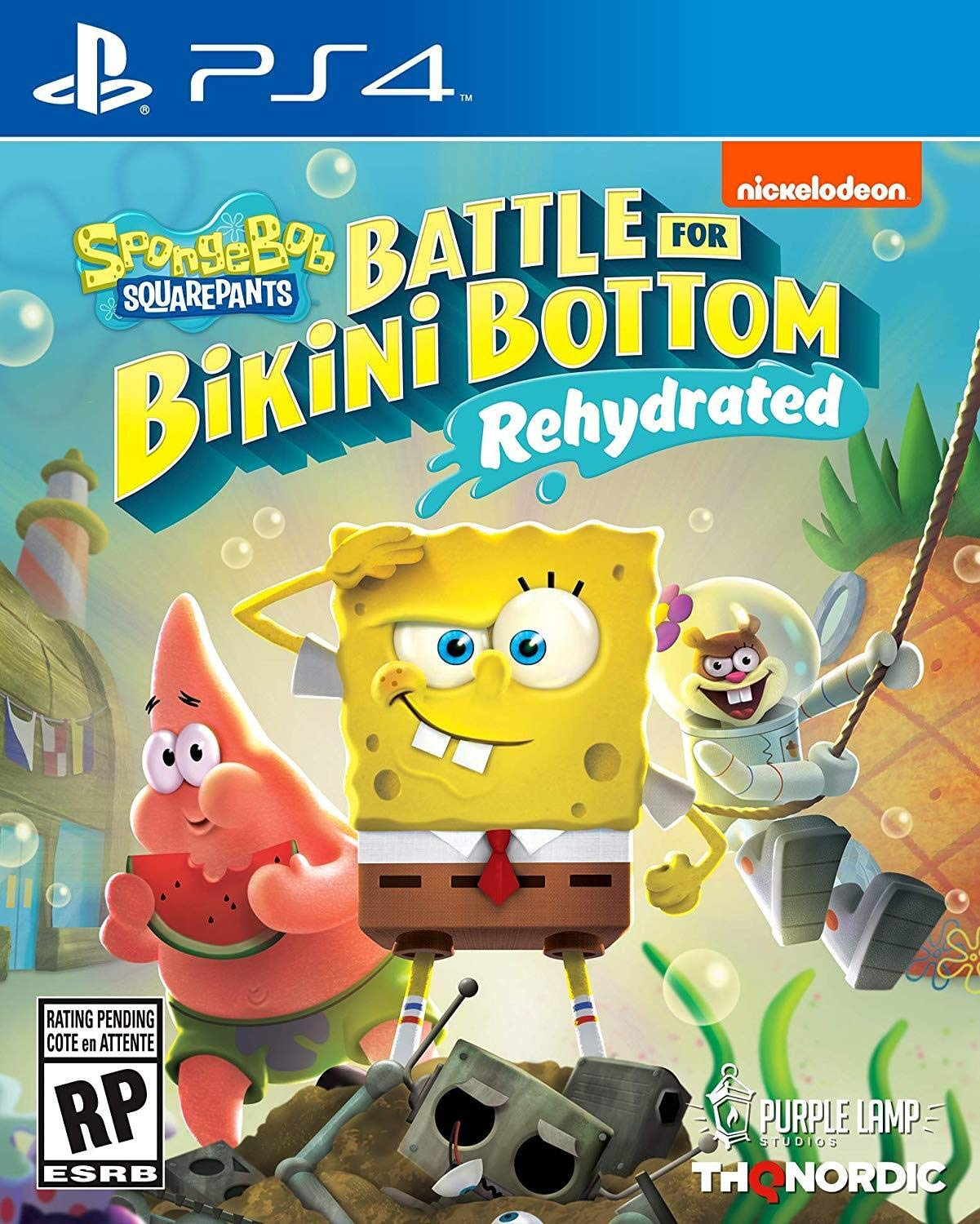 Spongebob Squarepants: Battle for Bikini Bottom - Rehydrated - PlayStation 4 Standard Edition