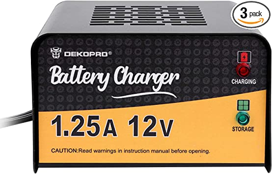 Battery Charger 12 Volt 3.0 Amp Battery SMART Charger