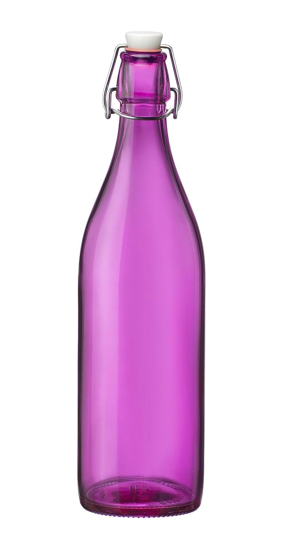 Bormioli Rocco Giara Bottle, Fuchsia
