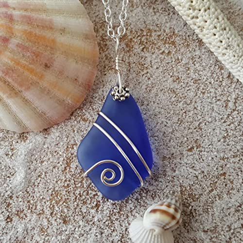 what is sea glass made of