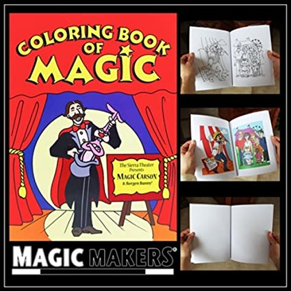 Buy Color Changing Book - Easy Magic Trick (Magic Coloring Book ...