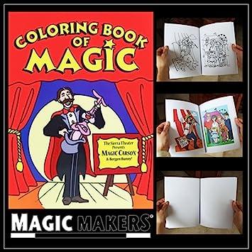 Magic Coloring Book Magicmakers Amazon Co Uk Toys Games