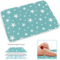 Changing Pad - Diaper Change Pad Large Size (50x70CM) - Portable Waterproof Baby Changing Pad for Girls Boys - Multi-Function Storage Bag for Travel Changing Mat