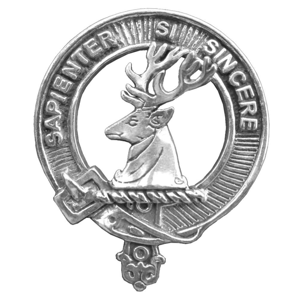 Davidson Scottish Clan Crest Badge
