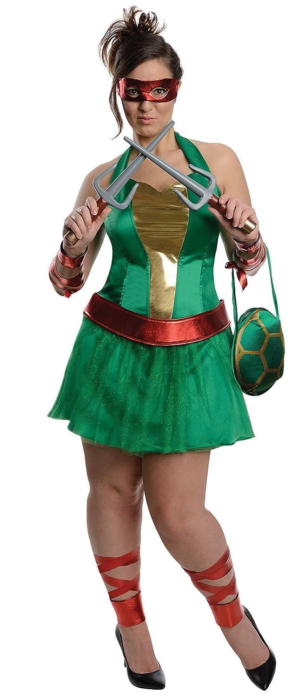Disfraz de Raphael de las Tortugas Ninja para mujer talla ...