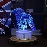 Night Light Dinosaur for Kids Illusion Birthday