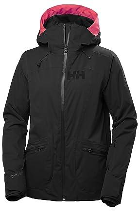 1dcb0796 Helly Hansen 65577 Women's Glory Light Insulated Stretch Ski Jacket, Black  - XS