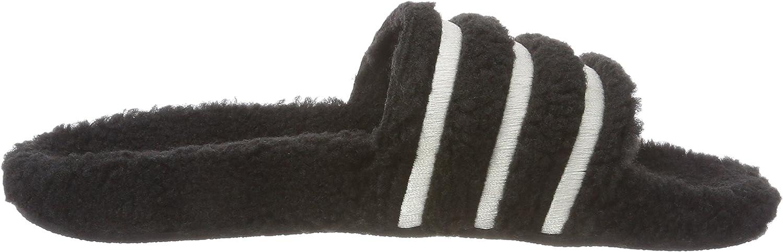 Adidas Adilette W, Damen Dusch- & Badeschuhe Schwarz (Negbás / Blatiz / Negbás 000)