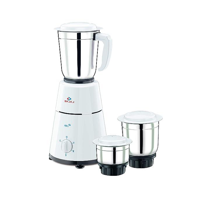 Bajaj GX 1 500 Watt Mixer Grinder with 3 Jar Mixer Grinders