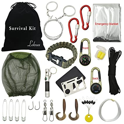 Leknes Outdoor Survival Kits For Disaster Preparedness