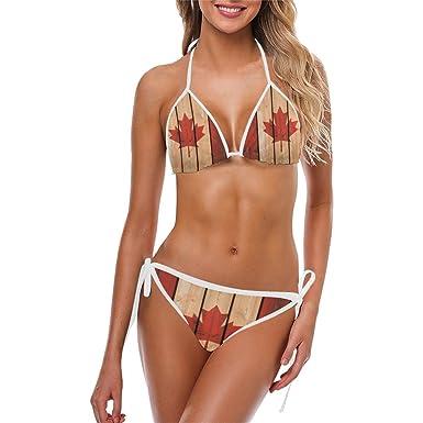 Not know, Bikini canada flag