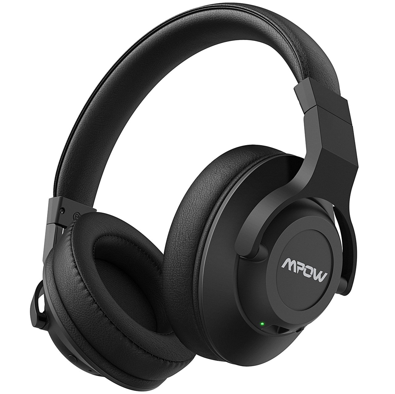 Mpow H12 Active Noise Cancelling Bluetooth Headphones, Over Ear Wireless Headset w/Mic, Wireless& Wired Comfortable Foldable Stereo ANC Headphones for PC/Cell Phones/TV Shenzhen Qianhai Patuoxun Network & Technology LTD PXMPBH242AB-V