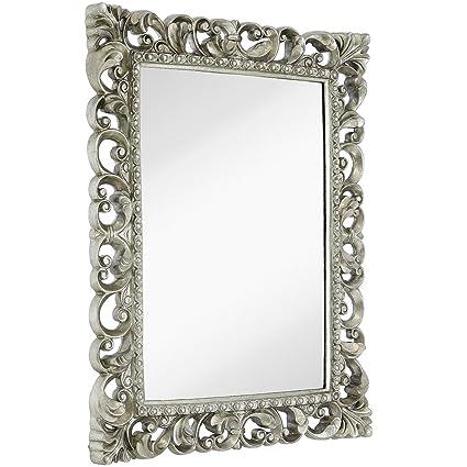 Amazon.com  Hamilton Hills Antique Silver Ornate Baroque Frame ... 18ab2861647