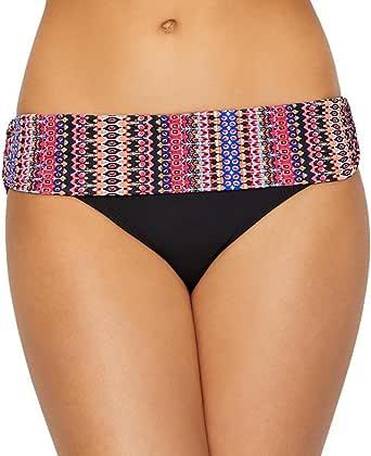 Anne Cole Stevie Stripe Banded Bikini Bottom