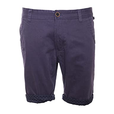 11871c75f3f Cultstorm Men's Brave Soul Cotton Chino Shorts with Turn Up Hem ...