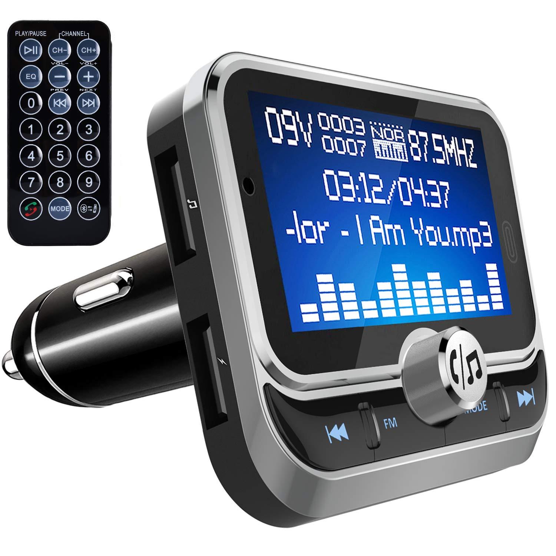 Car Bluetooth Wireless FM Transmitter AUX Radio Adapter MP3 Handsfree  Remote