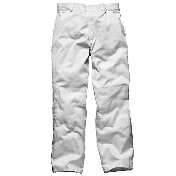 Dickies - Pantalon de peintre - Homme (Tour de taille 81cm) (Blanc)  Amazon. fr  Vêtements et accessoires d5d608ce581