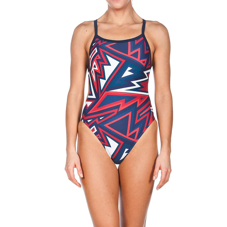 8eec65e0 Amazon.com: Arena Women's Tulum Challenge Back one Piece Swimsuit: Clothing