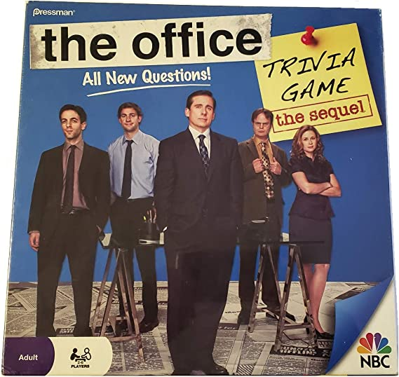 NEW Ready to Roll THE OFFICE Trivia Game 2 Players Card Games Cardinal NBC