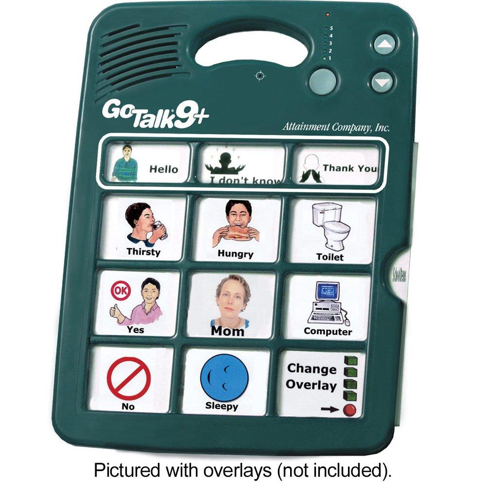 GoTalk 9-Plus- Alternative Communication Aid