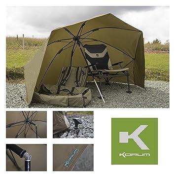 """Korum – 50 """"grafito paraguas refugio KMLUG/53 (un) casco Angling"""