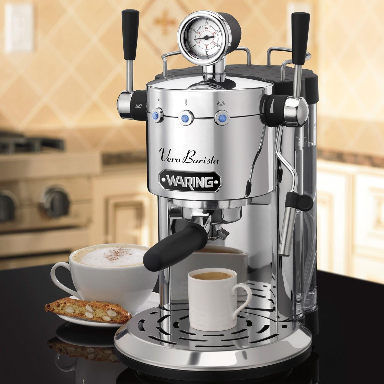 Waring Pro Espresso Machine Professional #ESM3000SA