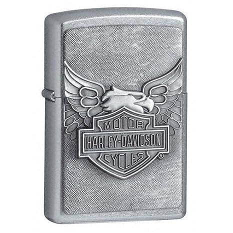 zippo accendino  Zippo, Accendino in metallo con emblema a forma di aquila, Cromato ...