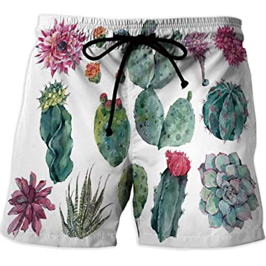 a6872d8cdc Image Unavailable. Image not available for. Color: Men's Watershorts, Nautical Decor,Quick-Drying Swim Trunks Board Shorts ...