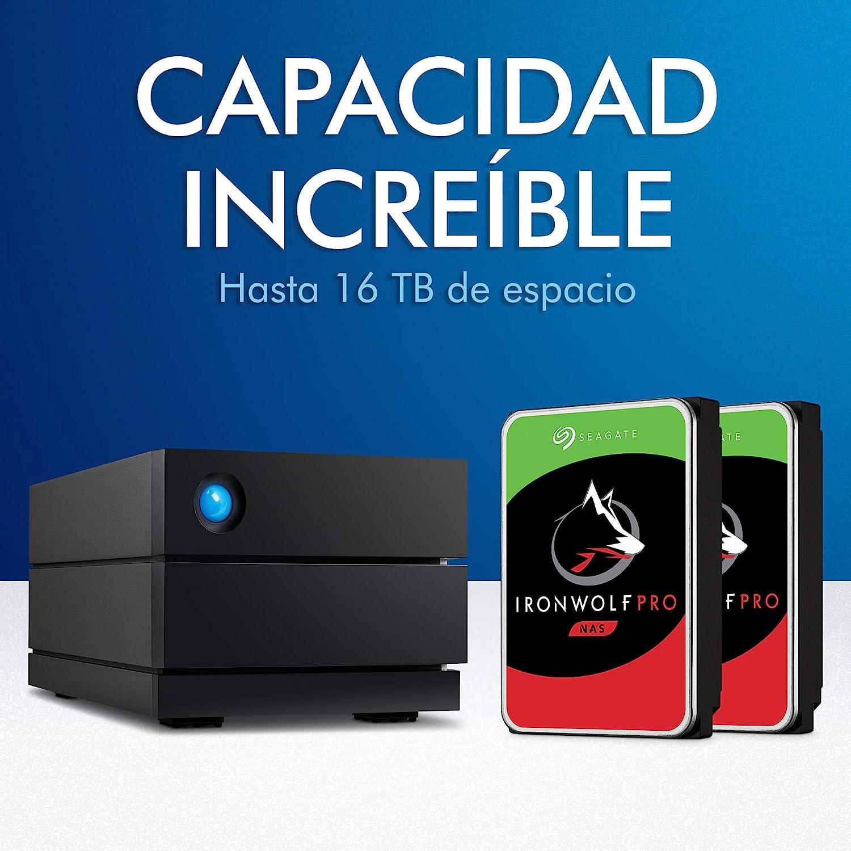 LaCie 2big Raid, 4 TB, Disco Duro Externa, HDD de sobremesa ...