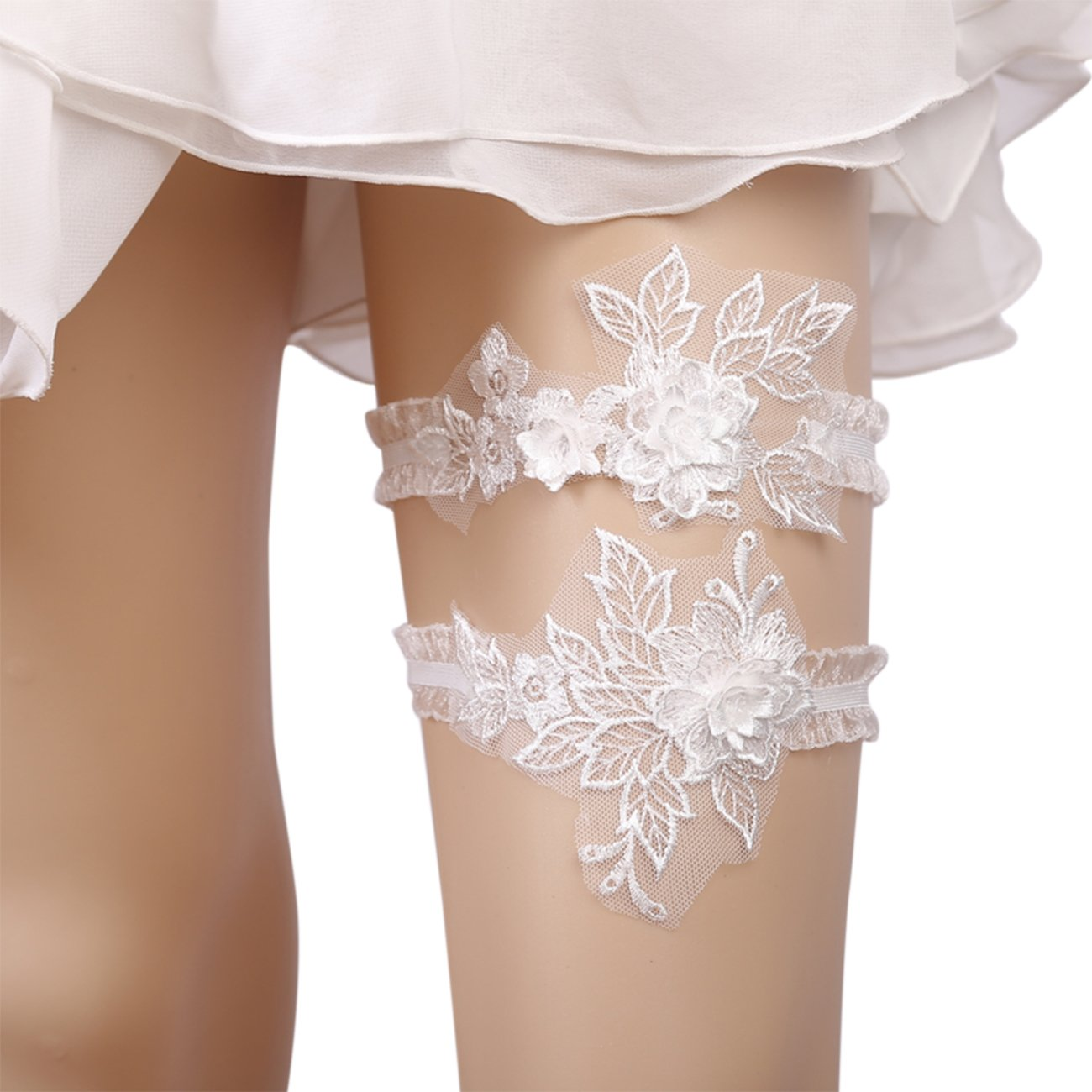 Mintso Wedding Bridal Flowers Garter for Brides (J086)