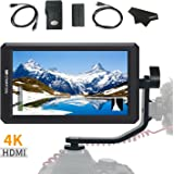 FEELWORLD F6 5.7Inch FHD IPS On Camera 4K HDMI Monitor with Swivel Arm and 8V