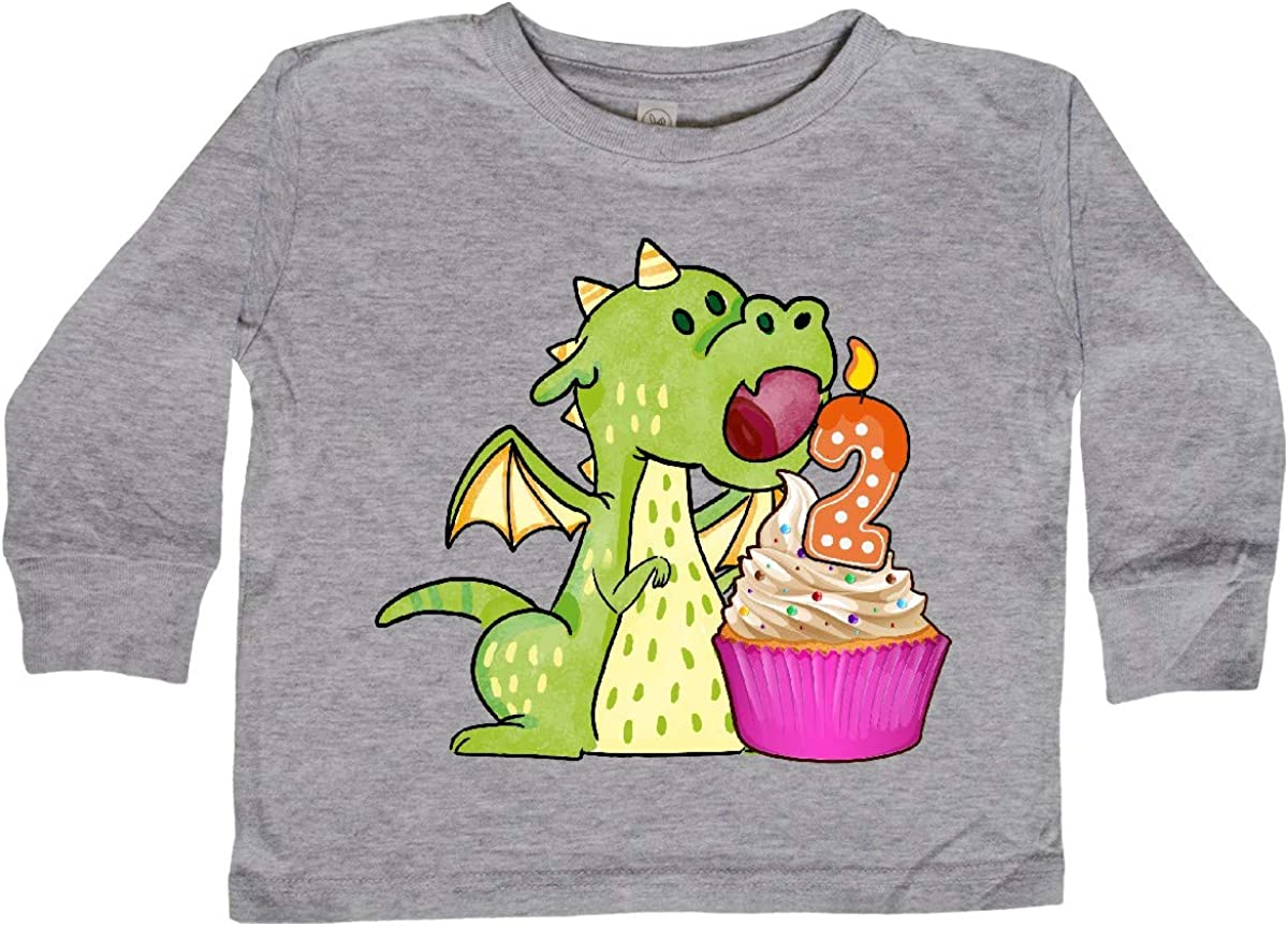 inktastic Dragon Toddler T-Shirt Gus Fink Studios