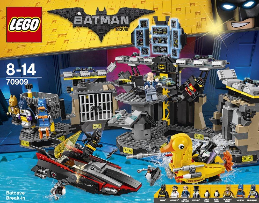 LEGO 70909 Batman Batcave Break-in Building Toy: LEGO: Amazon.co.uk ...