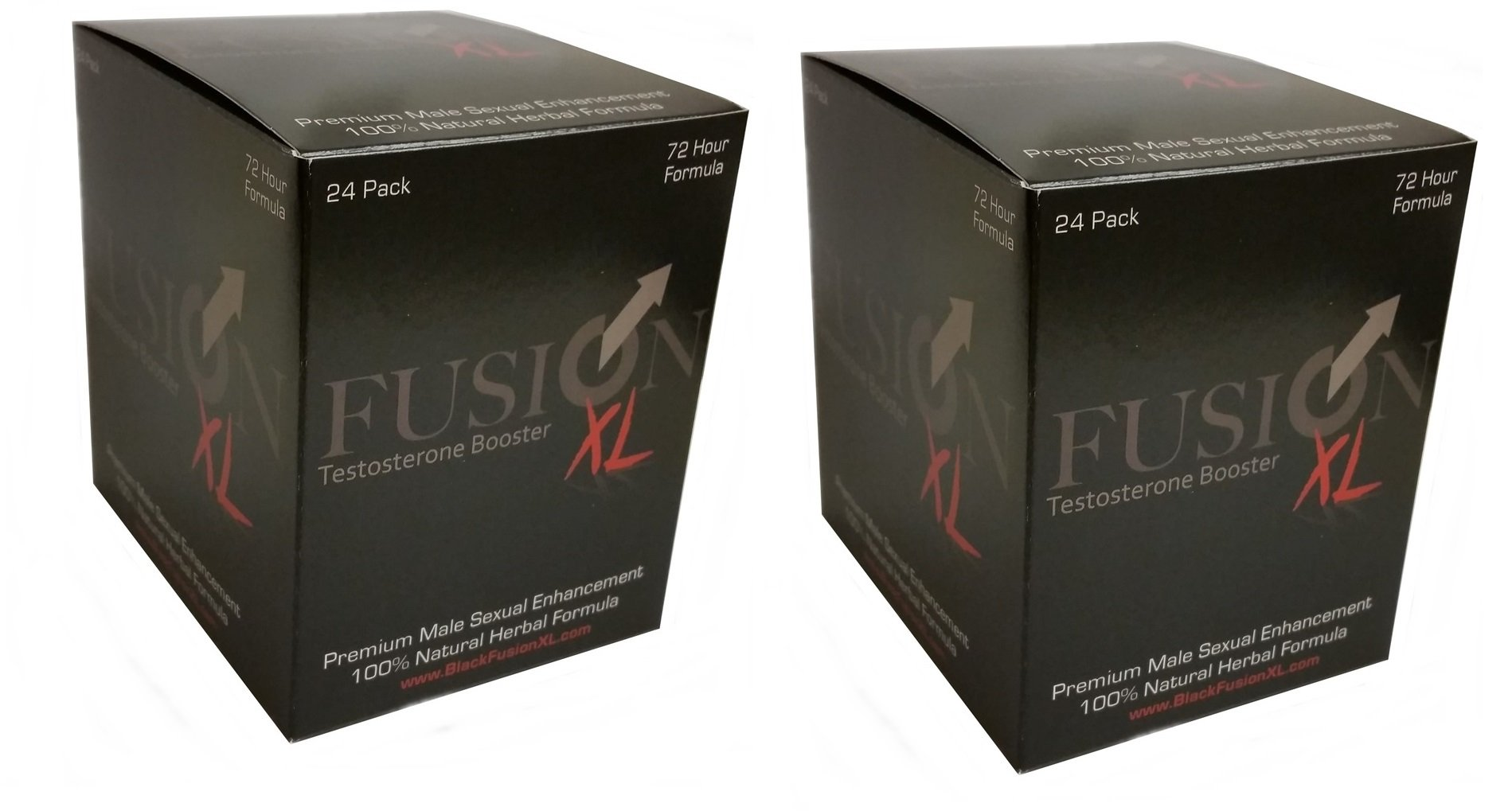 FusionXL Men's Testosterone Booster - Stamina, Endurance and Strength Booster ( 48 Capsules )