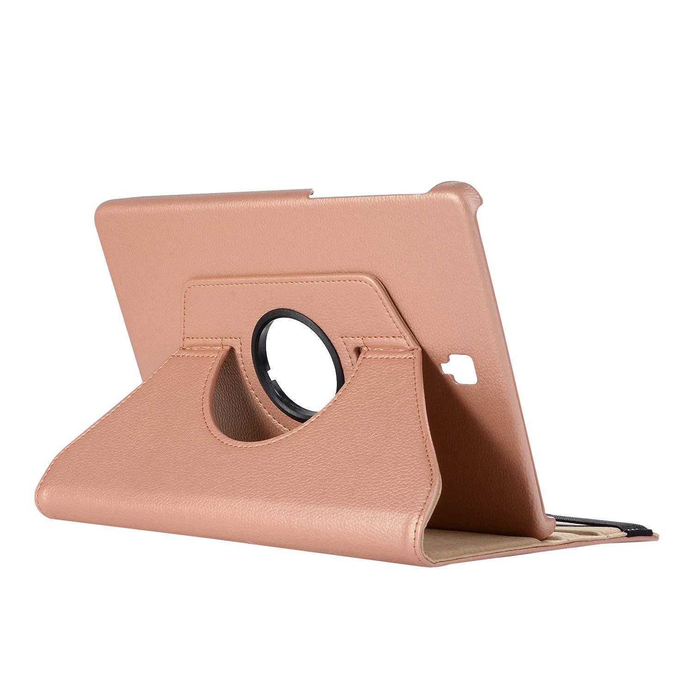 Samsung Galaxy Tab S4 Cover Case,Miya Folio Case for Galaxy Tab S4 10.5 Kickstand Case Auto Wake/Sleep [Multiple Viewing Angles] for Samsung Galaxy Tab S4 SM-T830 (Wi-Fi)/SM-T835 4G (LTE) 2018-Orange