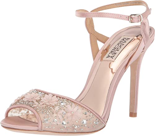 multiple colors detailed look authentic quality Badgley Mischka Women's Isabella Heeled Sandal