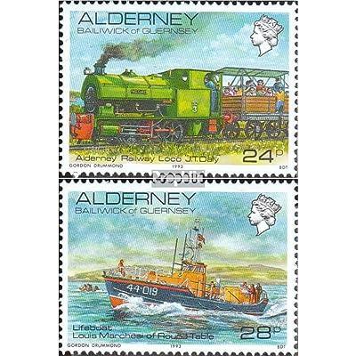 gb-alderney 59-60 (complète.Edition.) 1993 Vues de alderney (Timbres pour les collectionneurs)