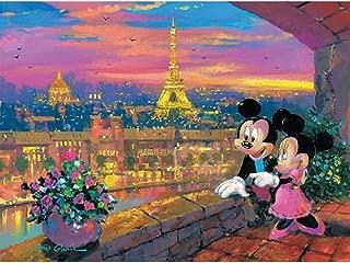 product image for Ceaco James Coleman Disney Fine Art Paris Sunset Jigsaw Puzzle, 1000 Piece