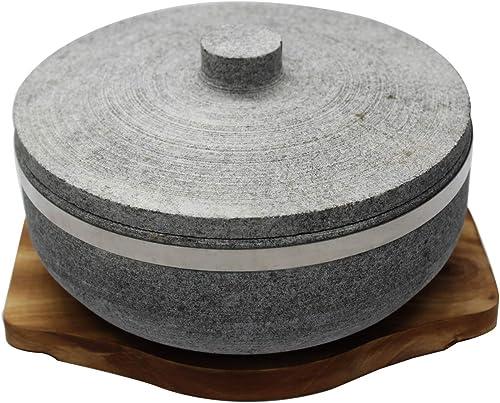 Angoo Natural Stone Dolsot Bibimbap Bowl