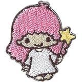 ミノダ サンリオ人気キャラクター ミニワッペン Little Twin Stars ララ S01Y9105