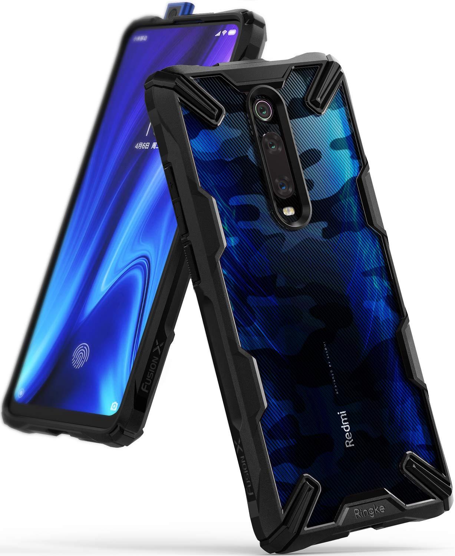 Funda Para Xiaomi Mi 9t Ringke Fusion X Camo Black