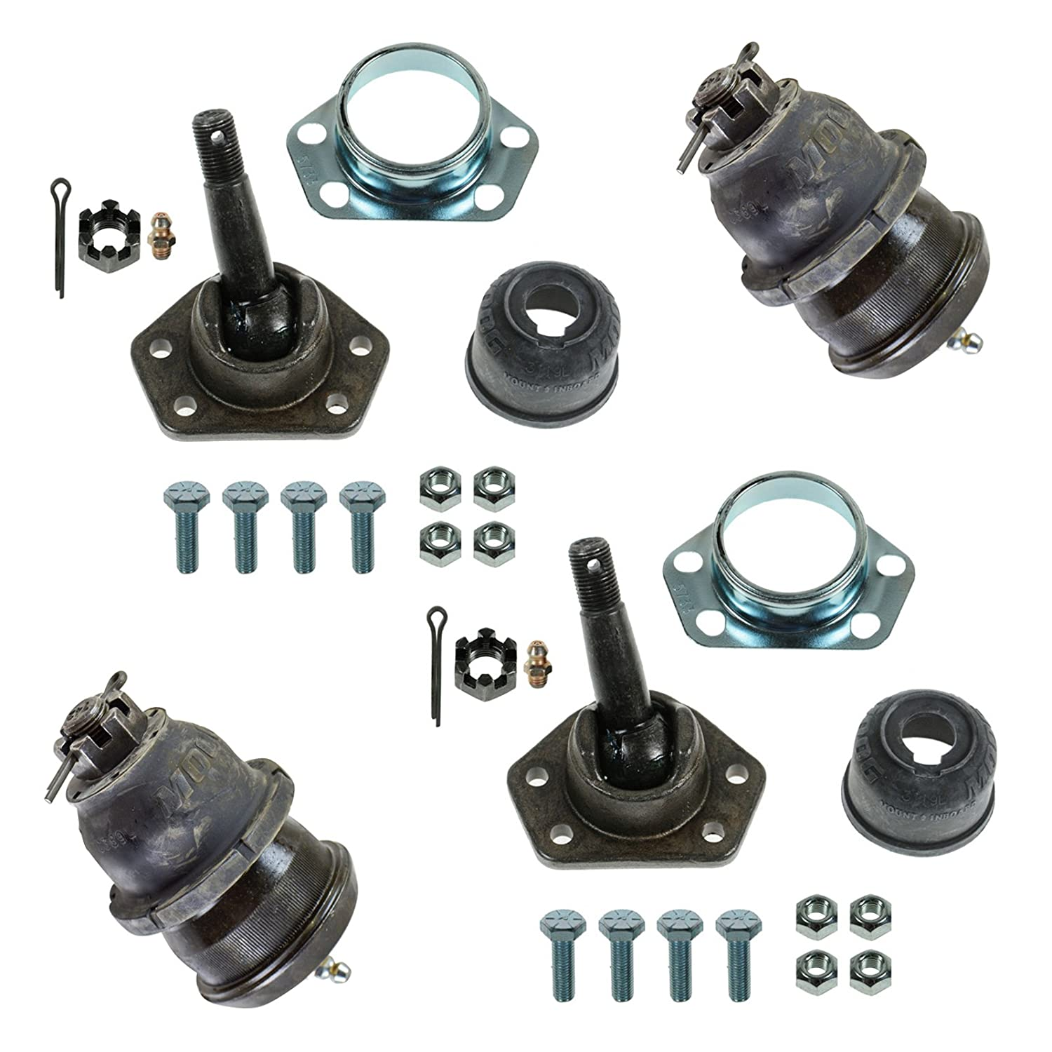 Moog K5108 K5103 Front Upper Lower Ball Joint Kit Set 4pc for Camaro GTO Cutlass 1A Auto