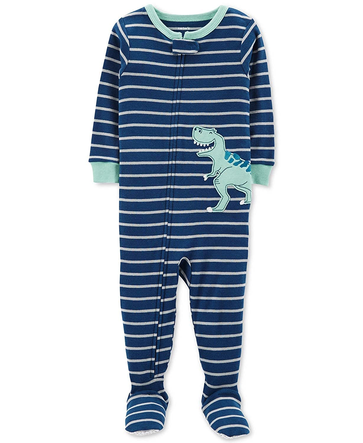 abeeee02e2fd Amazon.com  Carter s Baby Boys  1 Piece Cotton Footed Sleepers  Clothing