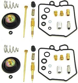 Amazon.com: Carburador Carb Repair Rebuild Kit 2 chorros de ...