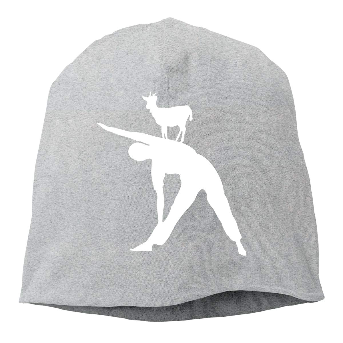 Yoga and Goat Unisex Knitted Hat Beanie Hat Warm Hats Skull Cap