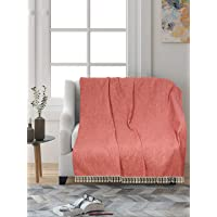 Saral Home Polyester Chenille Sofa Throw
