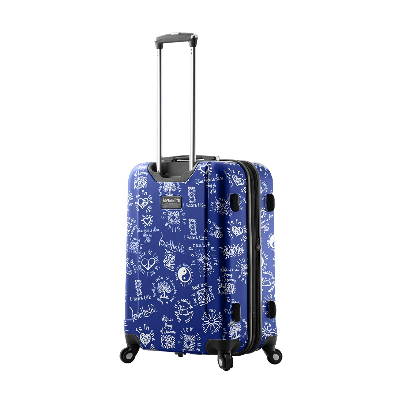 One Size Mia Toro Mia Tor 3 Piece Luggage Sets Ltl Medallions Blue