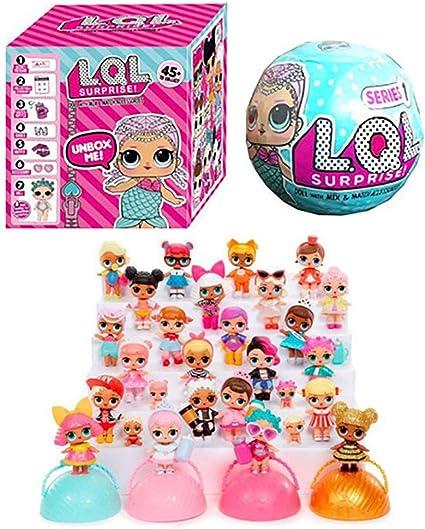 jinjin LOL sorpresa l.o.l. muñecas permite ser amigos Serie 1balls. Nuevo en caja.: Amazon.es: Oficina y papelería